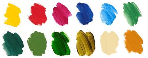 Acrylic Paint Colours