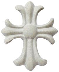 Art clay silver cross