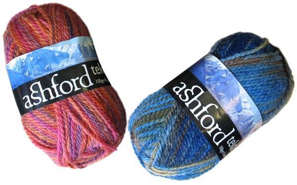 Corriedale wool fibre yarn