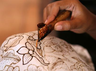 Batik Wax Outline
