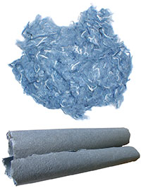 Recycled Denim Fibres