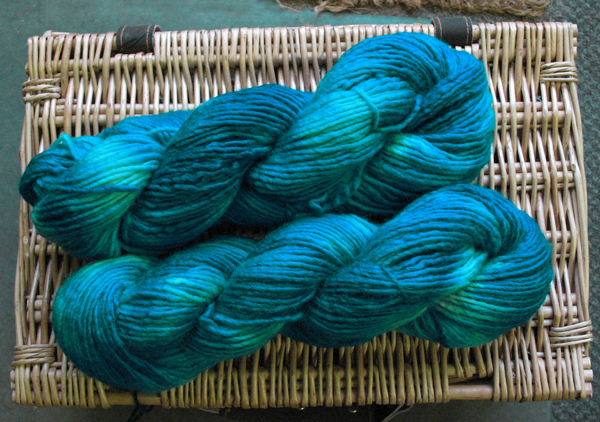 Dyed Yarn by Jo Barrell