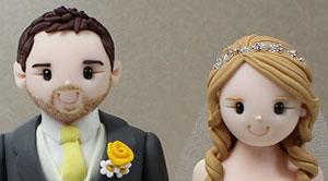 Cheryl Lockes Wedding Cake Toppers