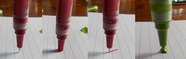 Using Derwent Graphik Line Painters