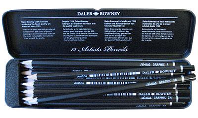 Daler Rowney Artist Graphite pencils