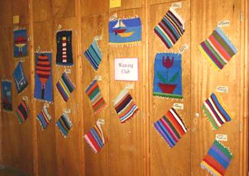 Weavings picture sent in by Sue Noble from Dulwich College Preparatory School