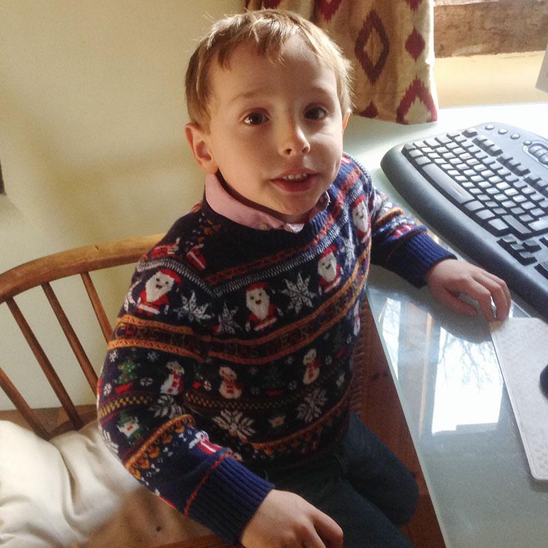 Felix Christmas sweater