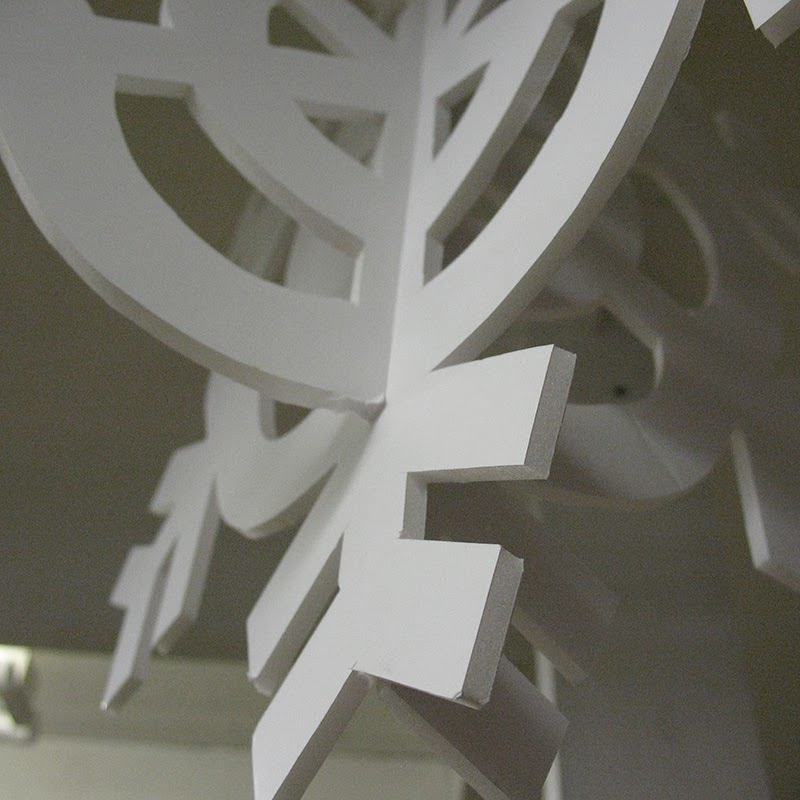 Handmade Foamboard Decoration