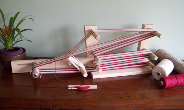 Set up Table Inkle Loom