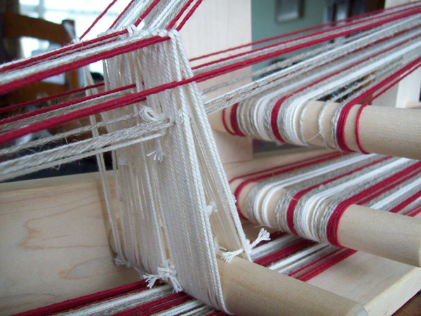 Heddle made of yarn