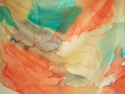 Paintings on Silk by Jenny Lacey