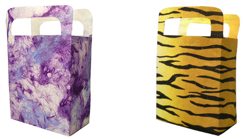 Decorative paper gift bags