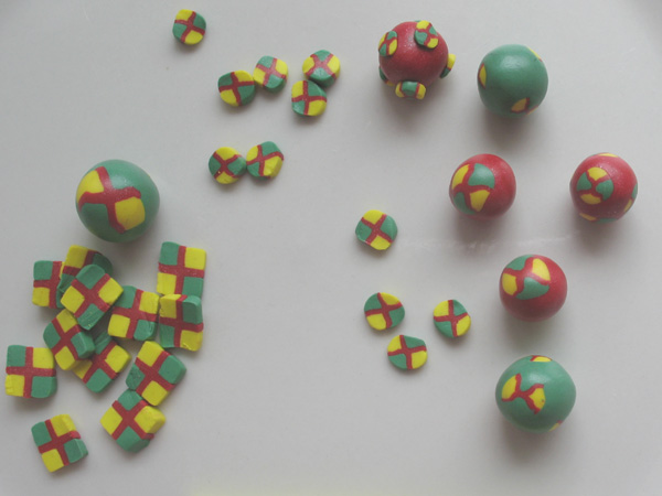 Cane Slices and Beads