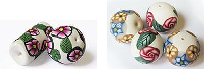 Handmade Polymer Clay Beads