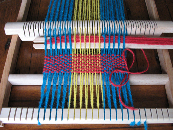 Learn more complex weaving