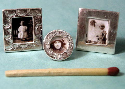 Art Clay Silver Project Miniature Picture Frames