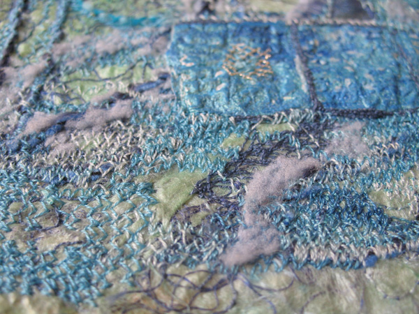 Layers of Lumiere on Embroidery