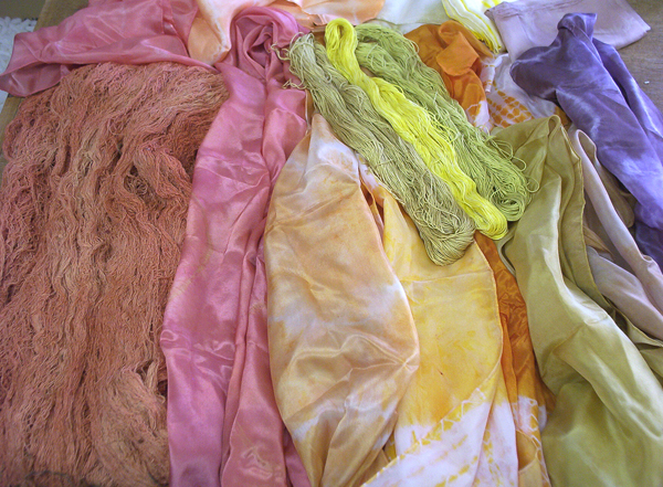 Natural Dye Results