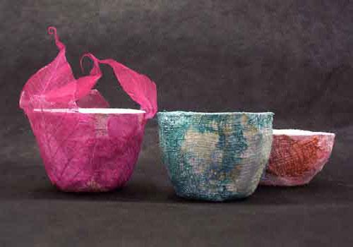 Decorated Modroc Pots