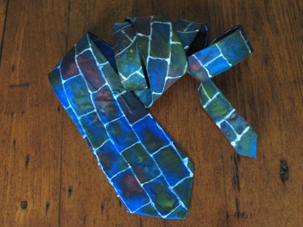 Painted Silk Tie