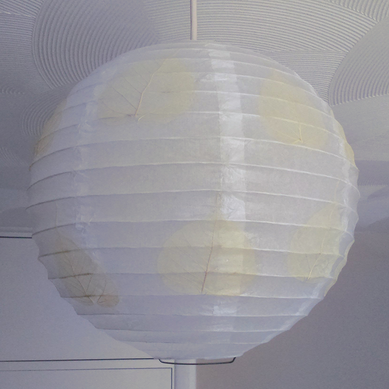 Decorated Paper Lantern lampshade