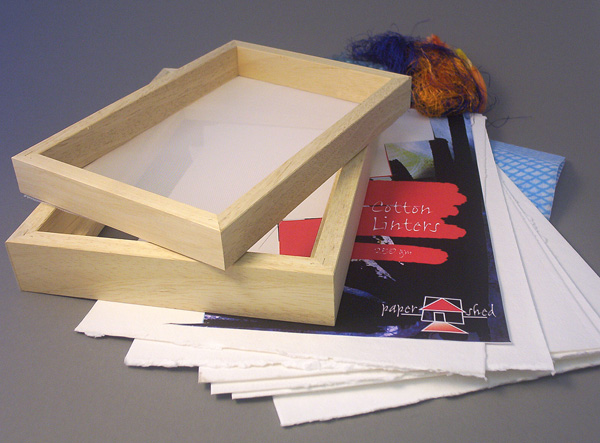 Contents of Paper Making Kit