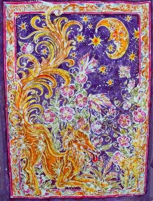 Roz Plant's Batik Paintings