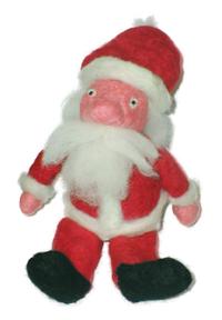 Felted Santa Claus