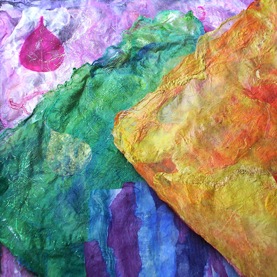 Decorative Handmade Silk Paper
