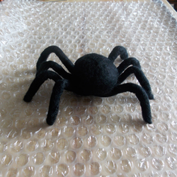 The Spider can Stand using its Pipe Cleaner Legs