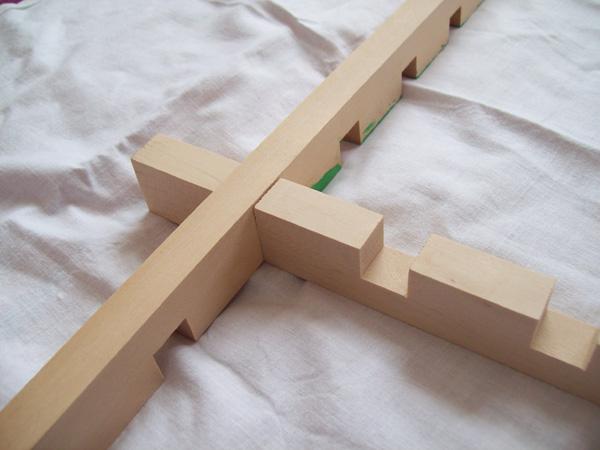Castellated Silk Stretcher Frames