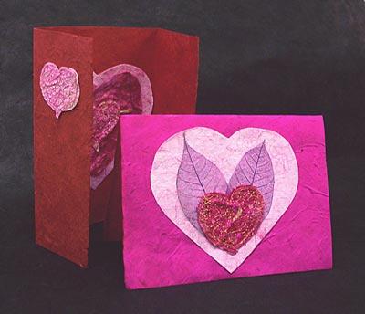 Lokta, Silk Fibre, and Silk Rag Cards