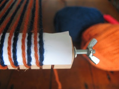 How to make a continuous warp