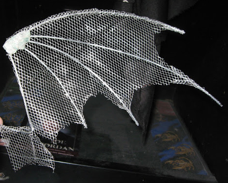 Armature Wing before Clay is added