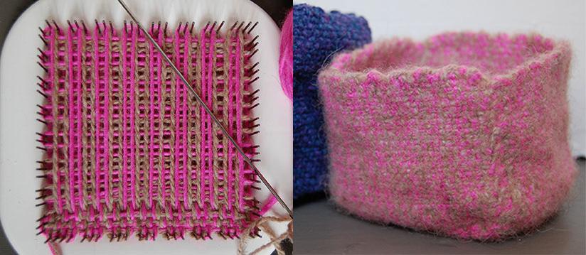 Create 3 dimensional weaves