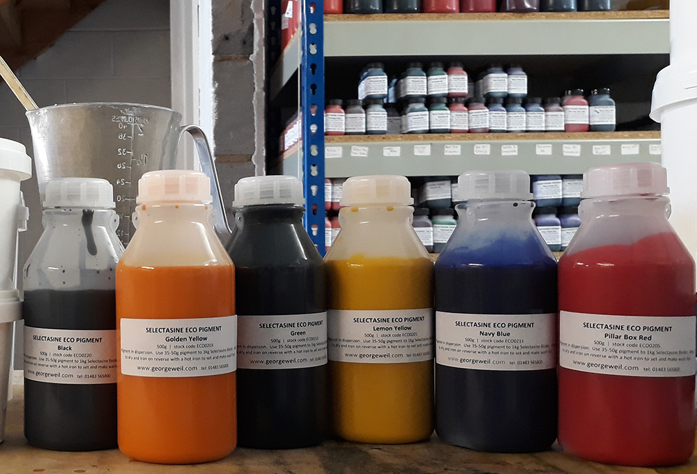 Selectasine Eco Pigments for Screen printing inks