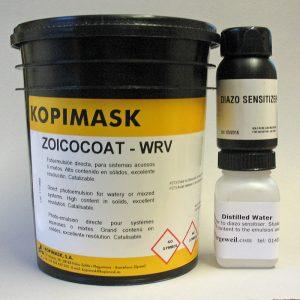 Zoico Coat WRV Diazo Photo Emulsion for screen printing