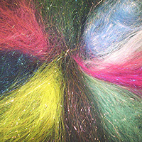 Heat bonding fibres - Angelina 9 colours