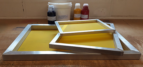 Screens for Screen Printing, Aluminium Frame