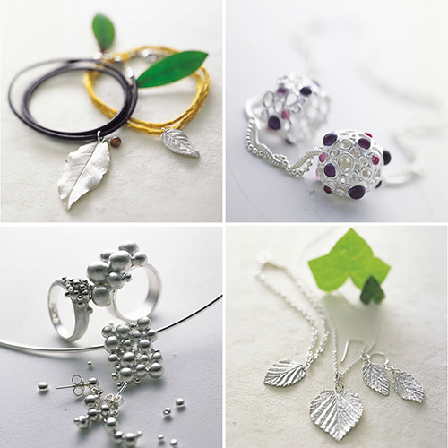 Jewellery made from Art Clay Silver Clay