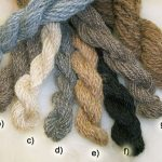 Hand Spun Wool, Hair & Silk Fibres