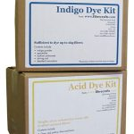Printing and Painting with Procion MX dyes and Acid dyes