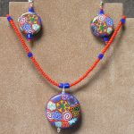Polymer Clay Pendant & Earrings