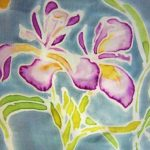 Silk Painting with Silkpaint Resist