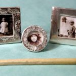 Miniature Picture Frame from Art Clay Silver Clay