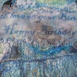 Mixed Media Embroidered Message
