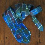 Hand Painted Silk Tie