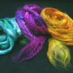 Silk Fibres for Spinning, Dyeing, Needle Felting and Silk Papermaking