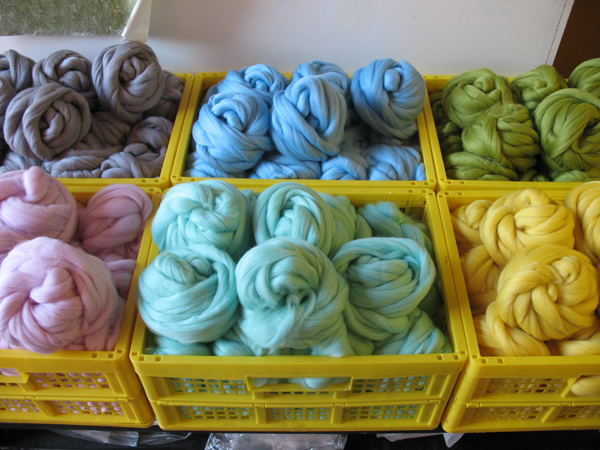 Merino wool tops for felt making