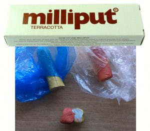Terracotta Milliput Epoxy Putty